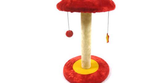 Plush Mushroom Type Cat Tree