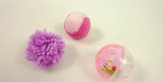 Set Cat Toy Balls