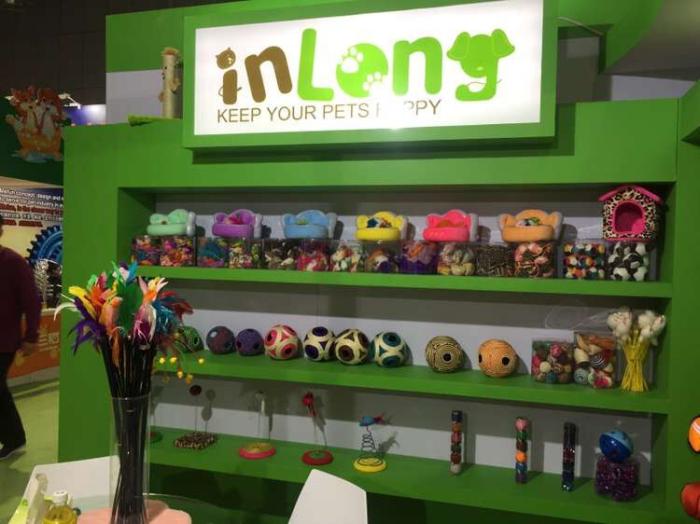 inlong booth at CIPS 2015