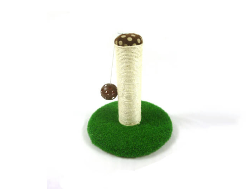 Faux Grass Sisal Cat Scratching Post