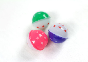 Neon Plastic Star Ball Toy for Cat
