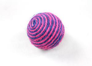 2-Tone Sisal Ball Cat Toy