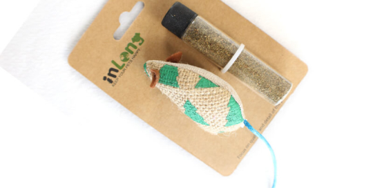 Mouse and Catnip Cat Toy Set