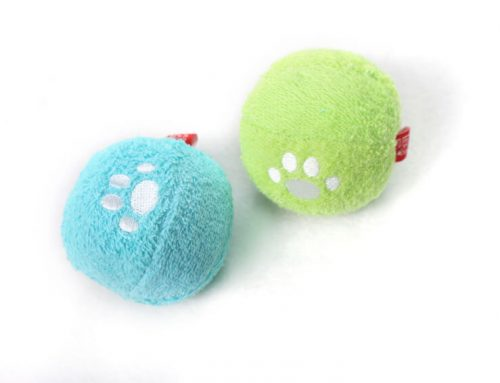 Fluffy Towels Fabric Toy Ball for Dog