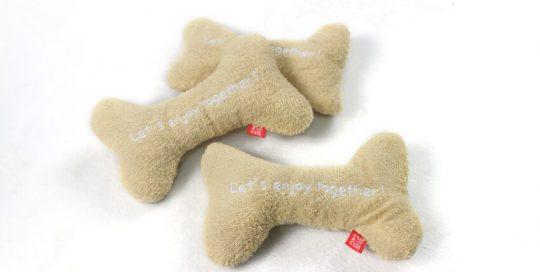 Towel Bone Dog Toy